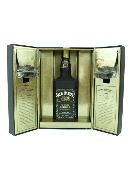 Jack Daniel's Double Gold medal set