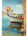 Fishing Harbor II by Kostas Eleftheriou (Ψαρολίμανο ΙΙ)