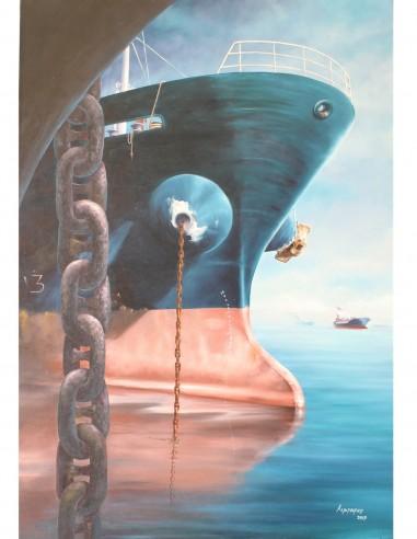 Wounded Eye by Kostas Eleftheriou (Πληγωμένος Οφθαλμός)