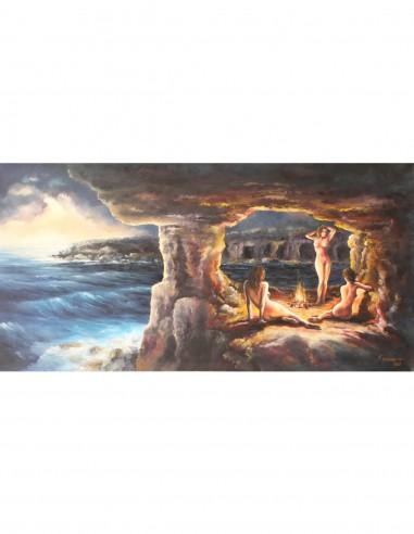 Fairies in the Cave by Kostas Eleftheriou (Νεράιδες στις Σπηλιές)