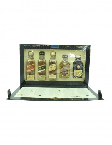 Johnnie Walker Special Collection 500 Years Miniatures