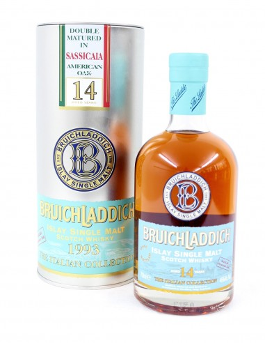 Bruichladdich 1993 Bolgheri French Oak 14 Year Old / The Italian Collection