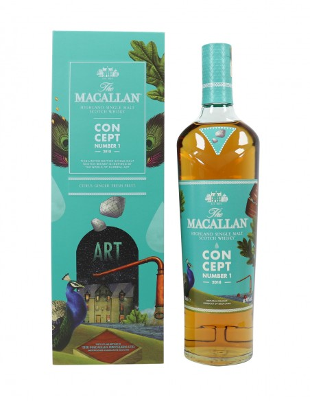 Macallan Concept Number 1 Art - 2018