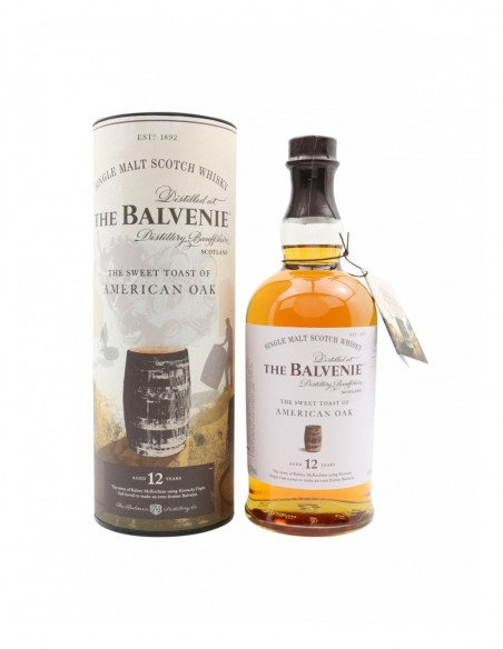 Balvenie 12 Year Old American Oak Story No. 01