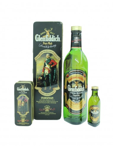 Glenfiddich Clans of the Highlands & Miniature 5cl - Clan Sinclair