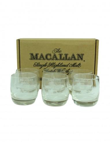 Macallan Tumblers Glasses x 6