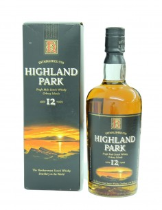 Highland Park 12 Year Old (Early 2000s)