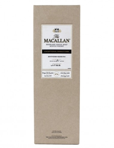 Macallan 2005 Exceptional Cask No.4 2017 Release