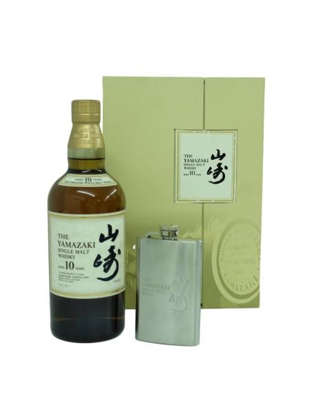 Yamazaki 10 Year Old & Hip-Flask