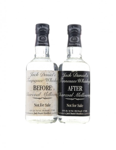 Jack Daniel's Before & After Charcoal Mellowing 2 x 37.5cl