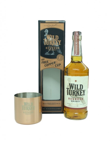 Wild Turkey With Copper Cup (Limited Edition)