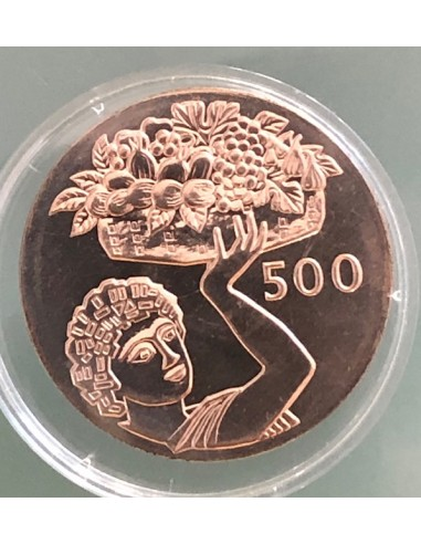 Cyprus 500 Mils Proof Coin 1970