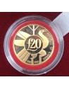 Cyprus 1990 Gold Coin-30th Anniversary of the Cypriot Republic