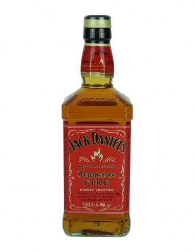 Jack Daniel's Fire Gift Set (with watch, flask, cups) Original Bottling 70cl
