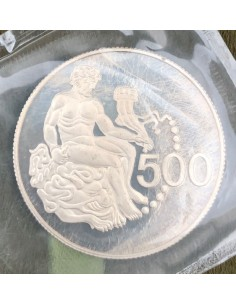 Cyprus 500 Mils Silver Proof Coin 1975