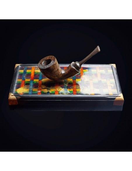 Chocolate Wood Handmade Pipe