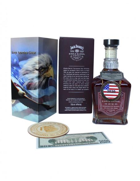 Jack Daniel's Donald Trump Supporters Bottle 2020 - b. 2019 - 750ml