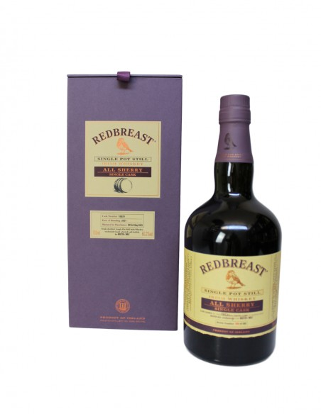 Redbreast 2001 All Sherry Single Cask No. 18829 / Master of Malt Exclusive