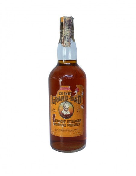 Old Grand-Dad Bottled in Bond Kentucky Bourbon 1970s