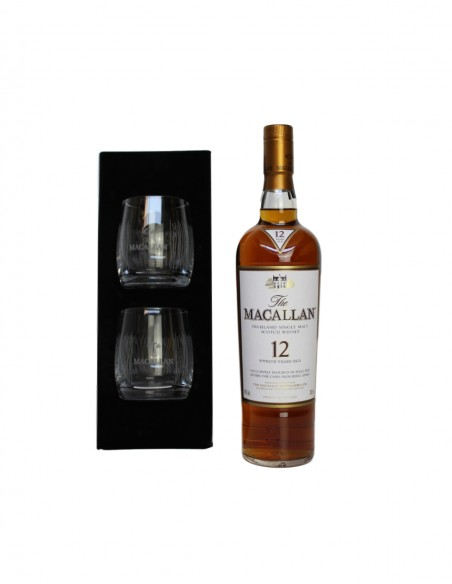 Macallan 12 Year Old Limited Edition Taiwan Exclusive with Glass Set