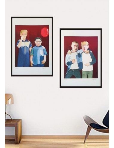 Donny and Friends Prints Series (set of 2) Limited Edition Prints 2018