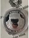 Congo Silverback Gorilla Silver Bullion Coin 1 oz 2016