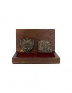 Jack Daniels Gold Medal Awards in Wood Box