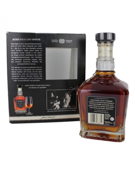 Jack Daniel's Single Barrel Select with nosing glass
