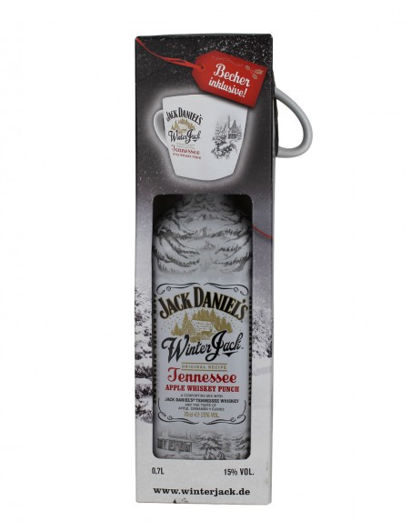 Jack Daniel's Winter Jack Tennessee Apple Whiskey Punch with Mug