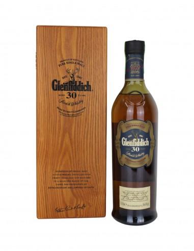 Glenfiddich 30 Year Old Wooden Box