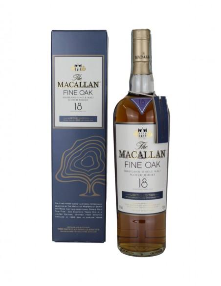 Macallan 1988 Fine Oak 18 Year Old