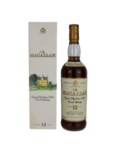 Macallan 12 Year Old - Old Style Bottle