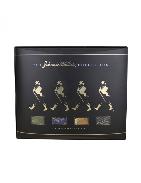 The Johnnie Walker Collection 4 x 200ml