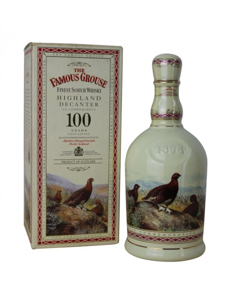 Famous Grouse Highland Decanter 100 Year Anniversary