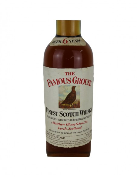 Famous Grouse Over 6 Year Old 1970s