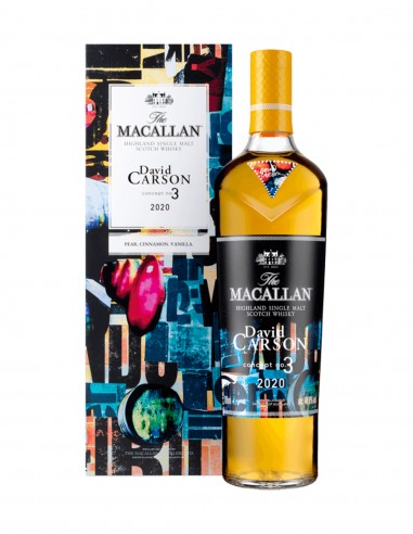 Macallan Concept Number 3 - David Carson 2020