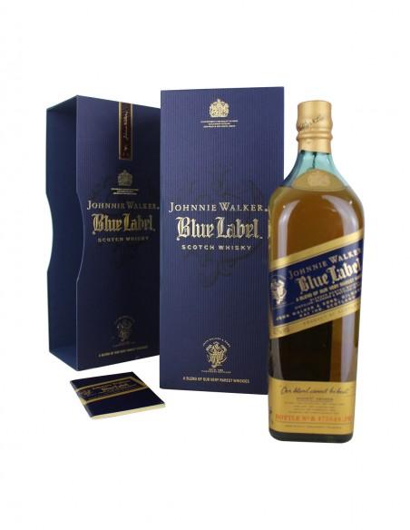 Johnnie Walker Blue Label - Old Presentation Litre bottle 75 cl